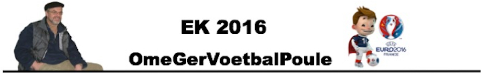 Ome Ger Voetbal Poule 2016